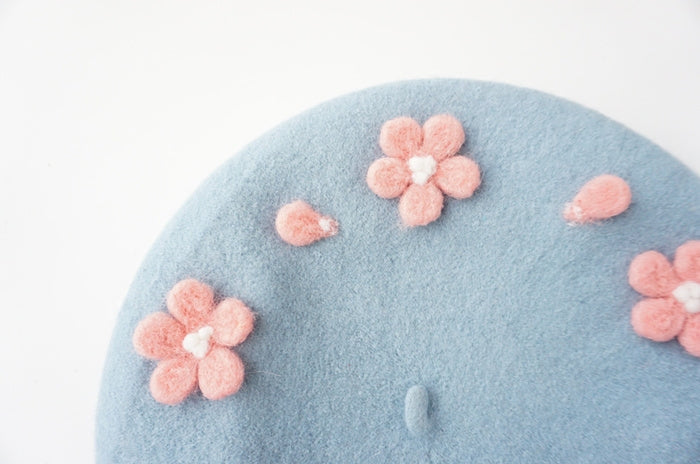 ''CHEEER BLOSSOMS'' BERET BY51031