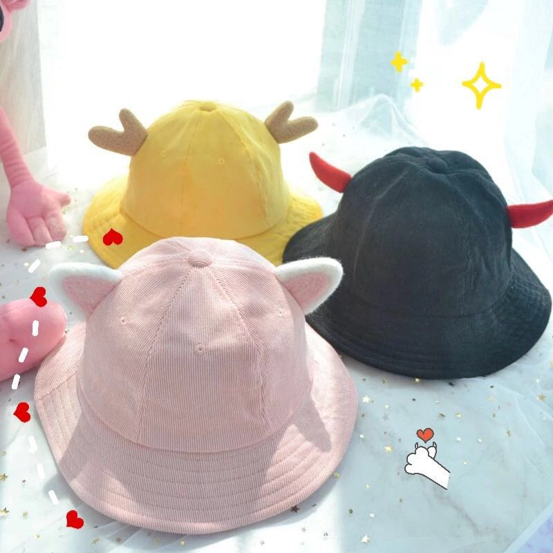 CUTE ANTLERS FISHERMAN HAT BY51051