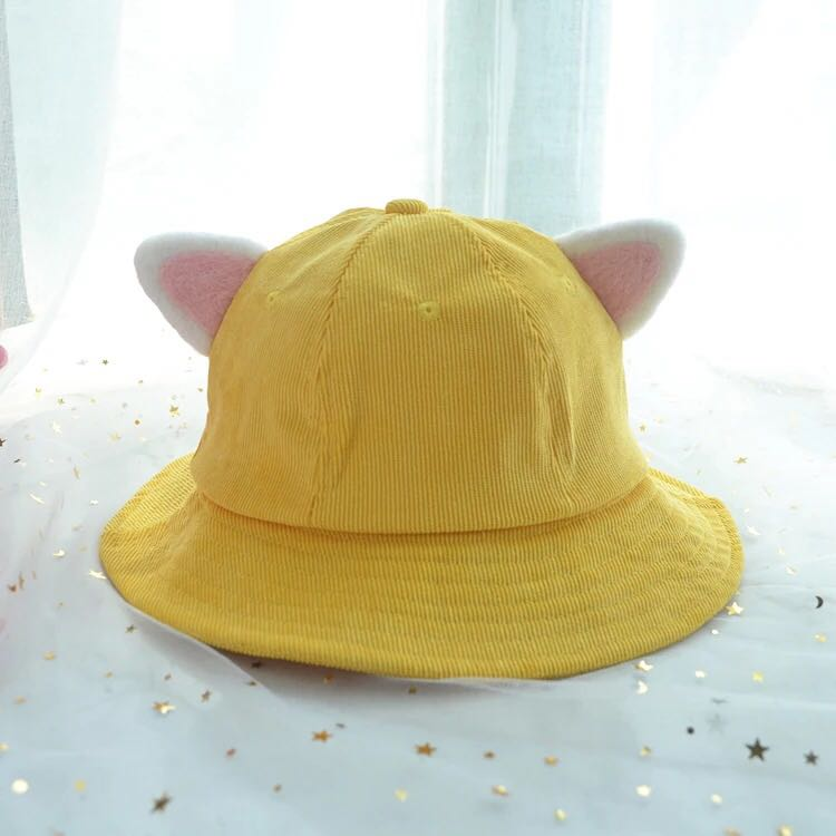 yellow cat ears