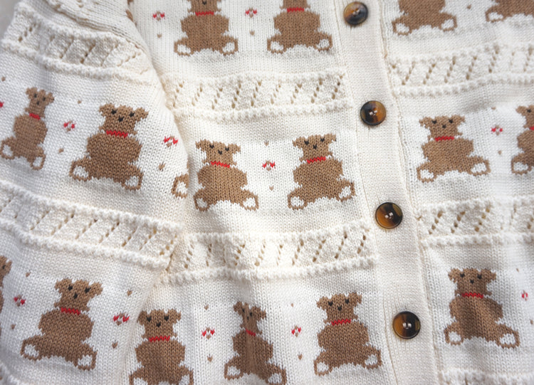 CUTE BEAR KNIT SWEATER BY21060