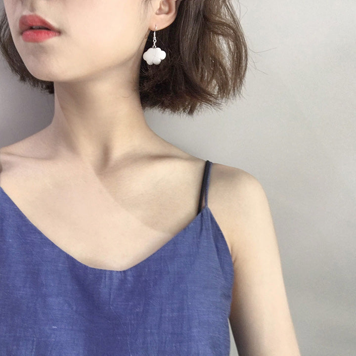 CUTE BLUE SKY CLOUD EARRINGS