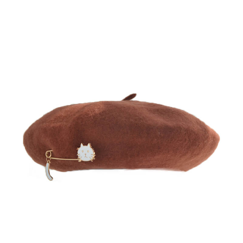 6 COLOURS CUTE CAT BERET BY51045
