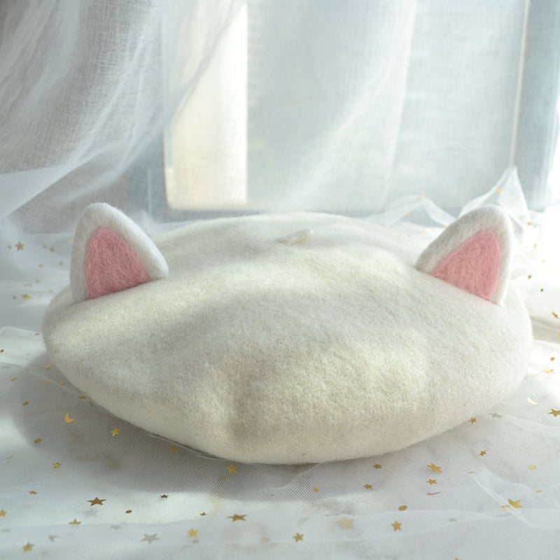 CUTE CAT EARS BERET BY51010