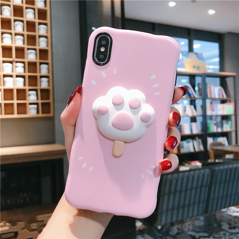 CUTE CAT PAW IPHONE CASE BY51410
