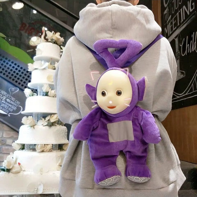CUTE CARTOON DOLL PLUSH BACKPACK BY91888