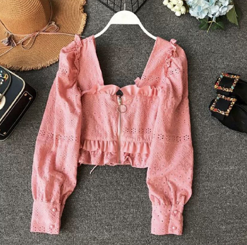 CUTE SEXY LACE BOW TOP BY22046