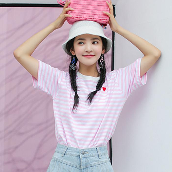 REVIEWS FOR CUTE PINK STRIPE T-SHIRT BY22043