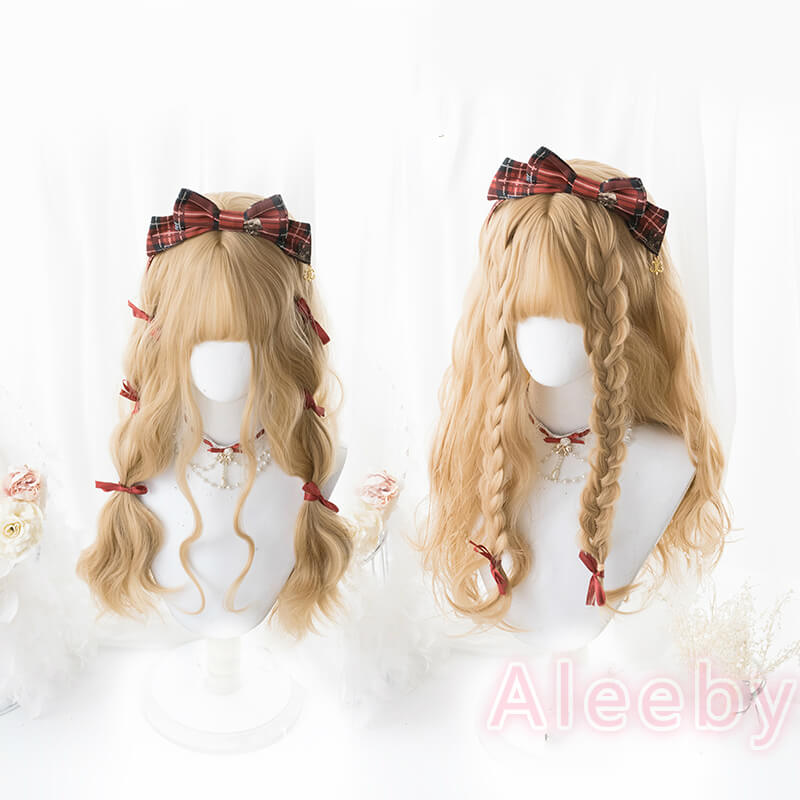 HARAJUKU LOLITA LONG CURLY OMELET WIG BY00717