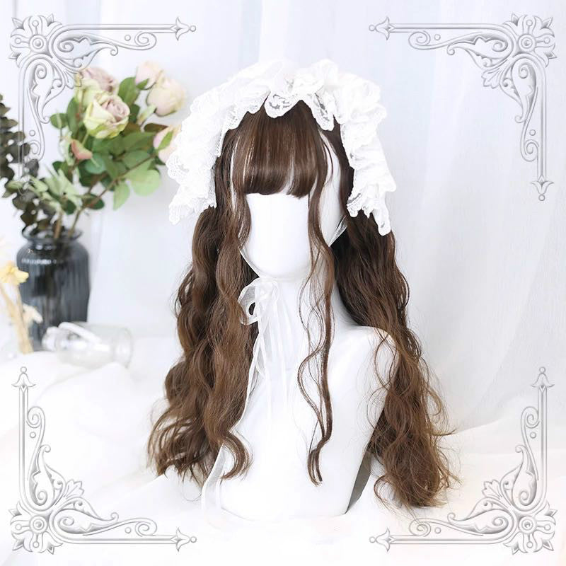 HARAJUKU LOLITA AIR BANGS EGG ROLL LONG WIG BY31004