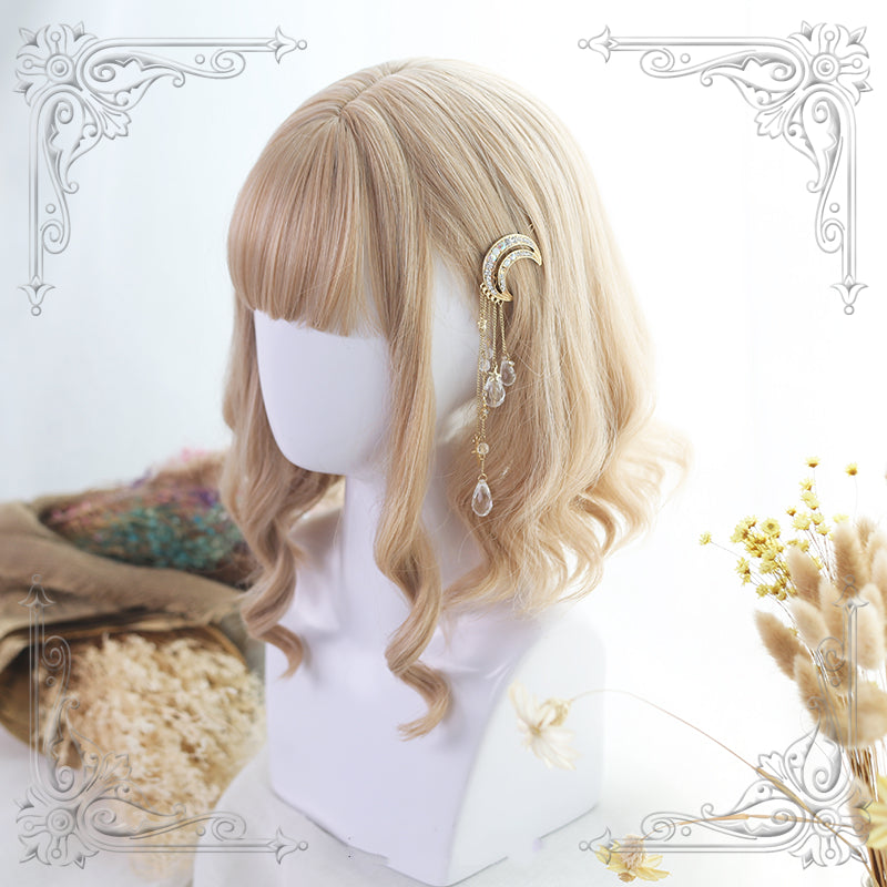HARAJUKU LOLITA SHORT CURLS WIG BY31010