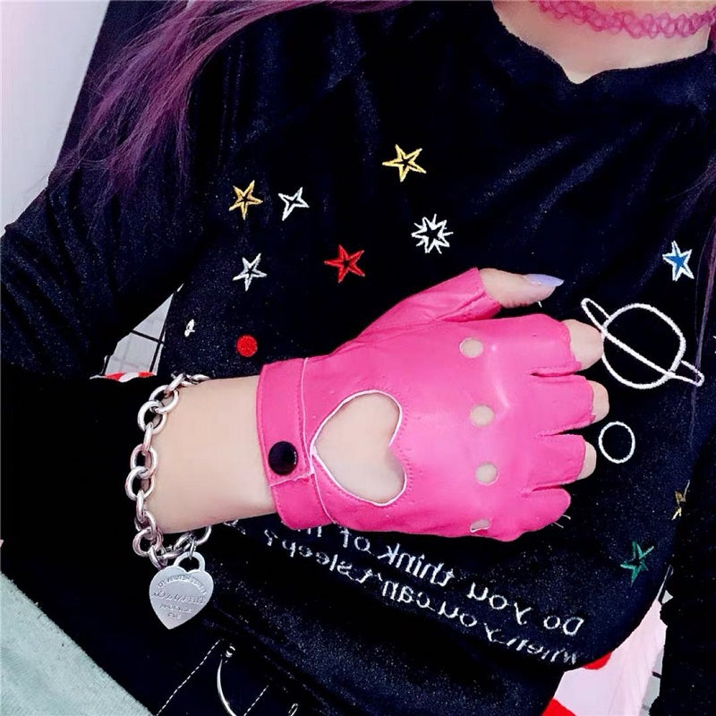 HARAJUKU LOVE GLOVES BY61010