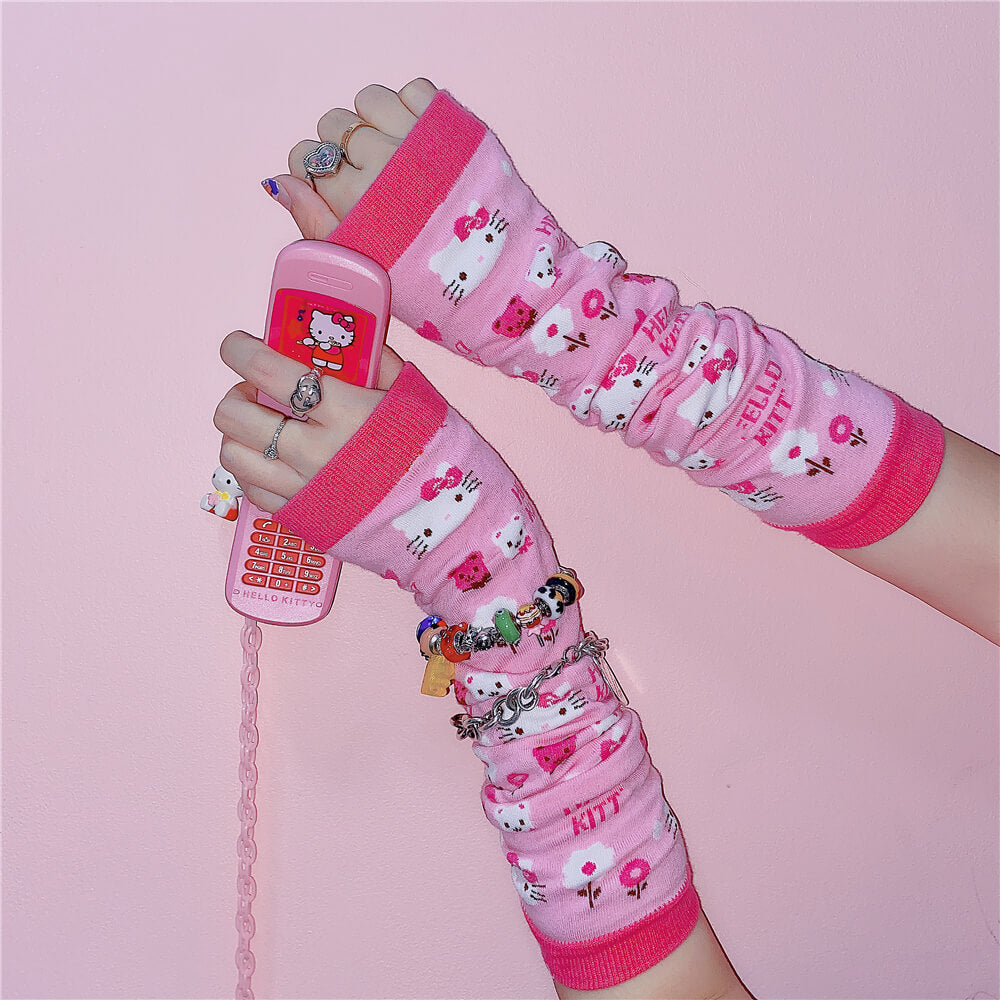 ''HELLO KITTY'' CUTE PINK JK CUFF BY06666