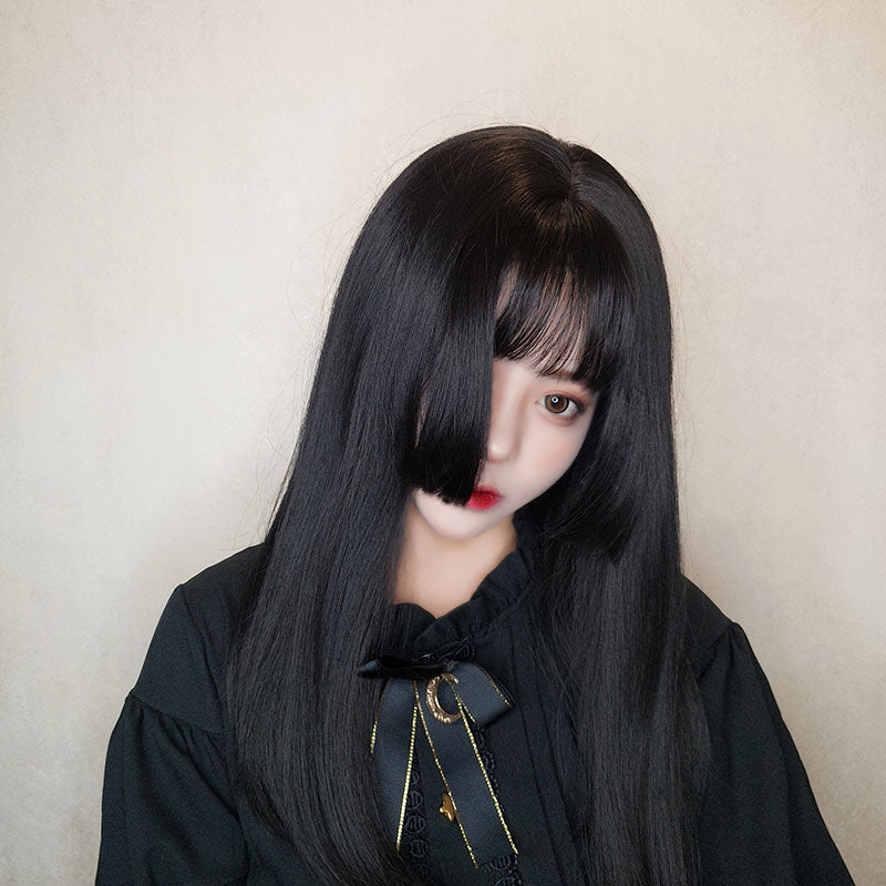 HIME CUT MEDIUM LONG STRAIGHT WIG BY31095