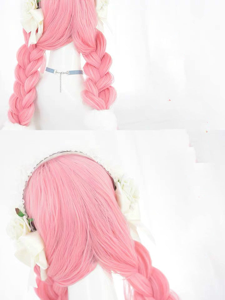 LOLITA PINK LONG WIG BY31102