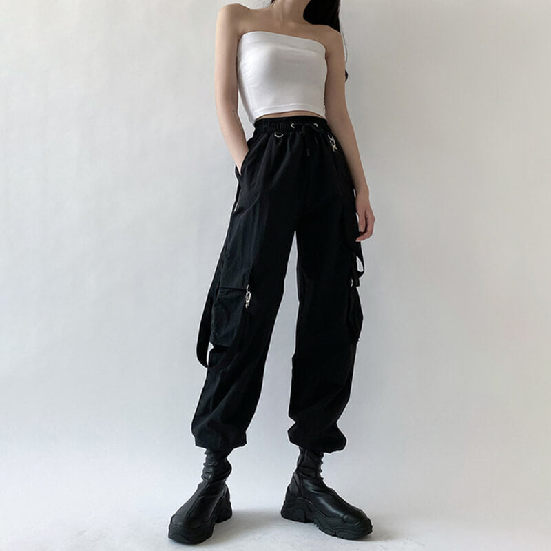 INS FASHION SUSPENDERS OVERALLS PANTS BY60808