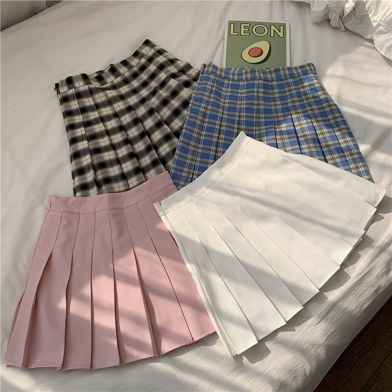 JAPANESE CUTE BM STYLE PLEATED SKIRT BY61206