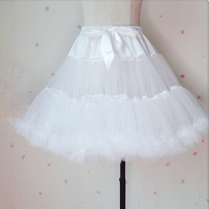 JAPANESE LOLITA SWEET WHITE BUSTLE BY07235