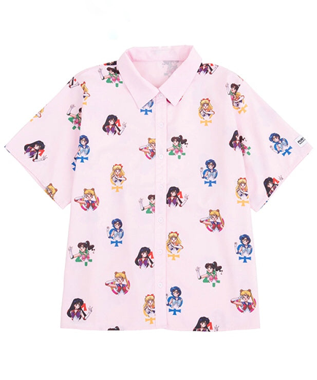 JAPANESE CARTOON 'SAILOR MOON 'PRINT SHIRT BY22979