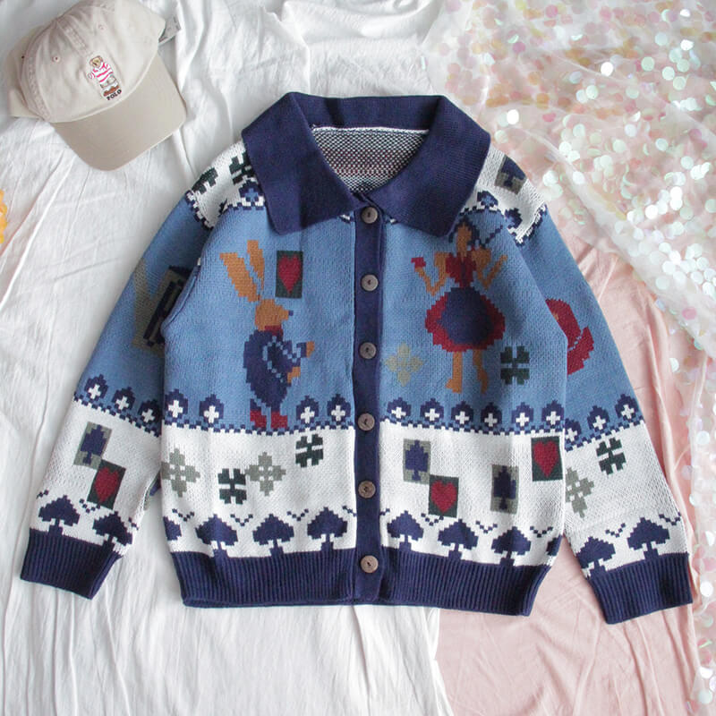 JAPANESE CUTE COLLEGE STYLE SWEATER BY21182