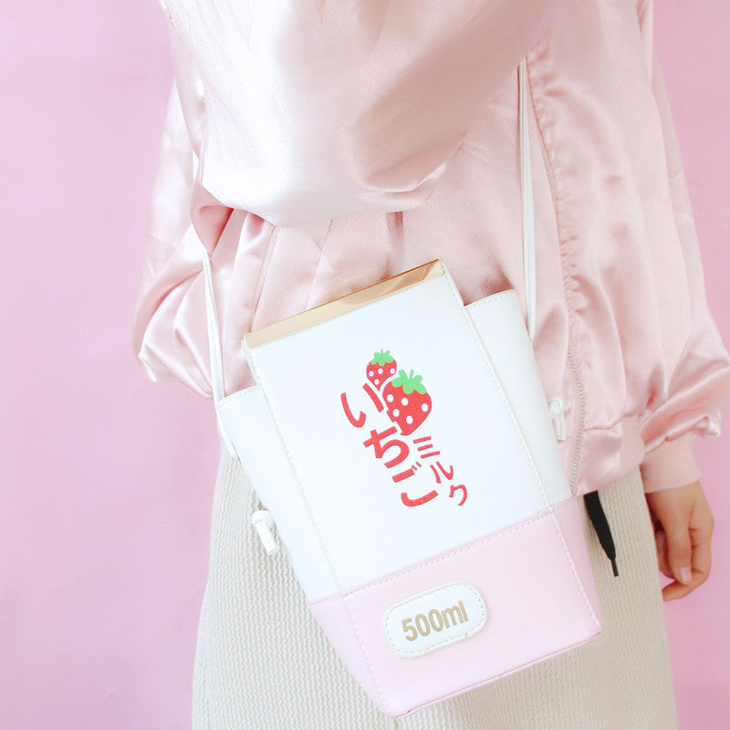 JAPANESE HARAJUKU CUTE STRAWBERRY BAG