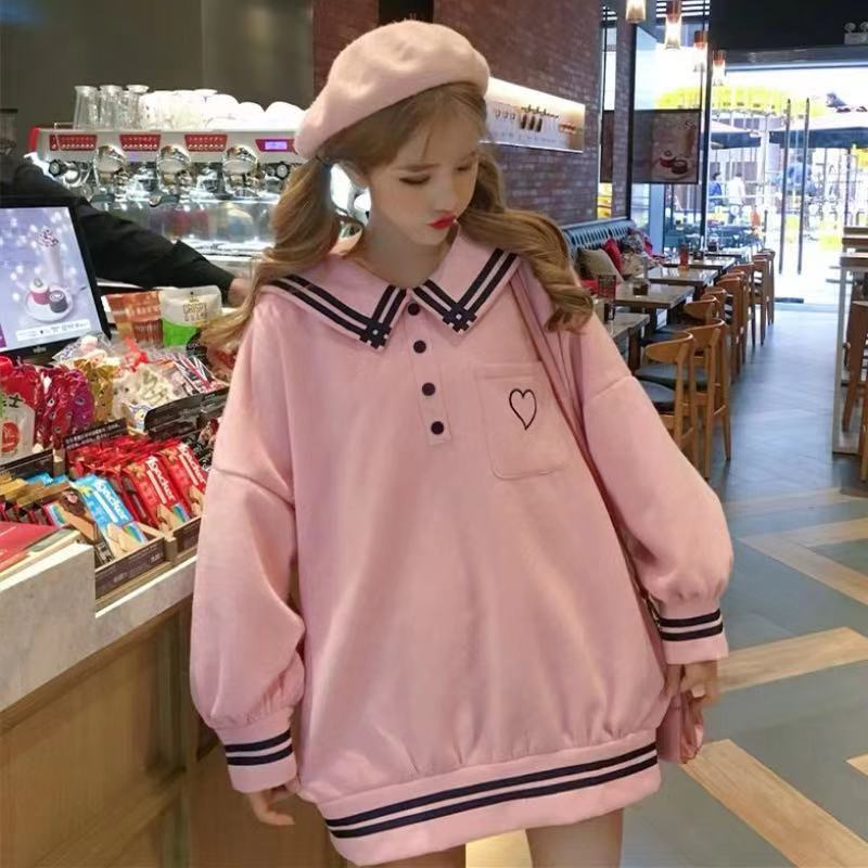 JAPANESE LOVE EMBROIDERIED HOODIE BY23048