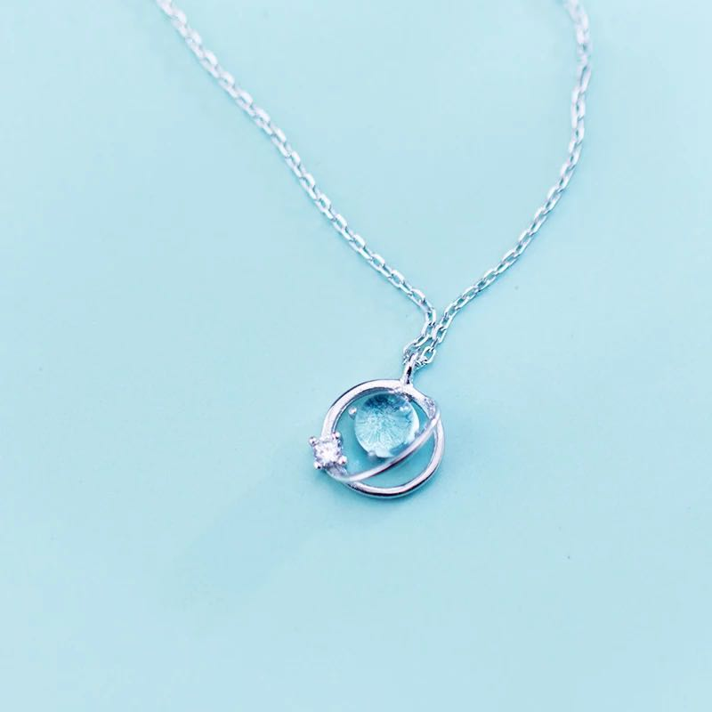 JAPANESE SWEET BLUE UNIVERSAL NECKLACE