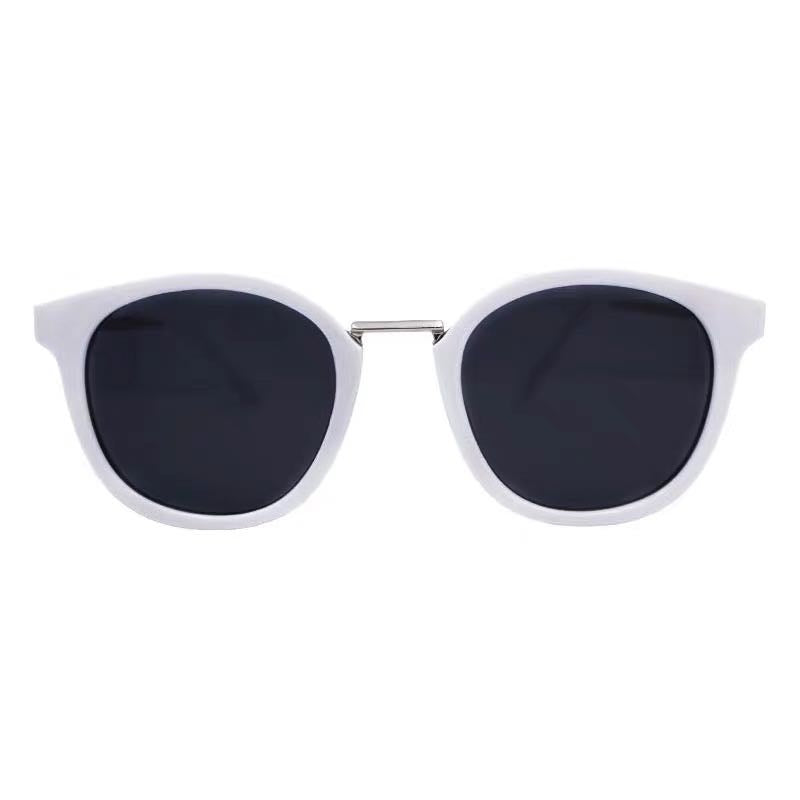 KOREAN HARAJUKU WHITE SQUARE FRAME SUNGLASSES BY12003