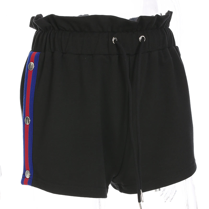 KOREAN LOOSE HIGH WAIST SPORT SHORTS