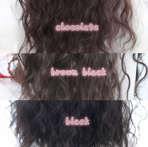 ''LITTLE WITCH'' SHEEP CURLY WIG BY31134