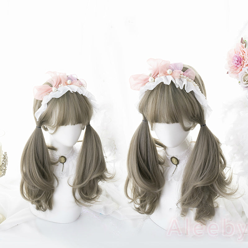 LOLITA GRAY SHORT STRAIGHT NATURAL WIG BY07179