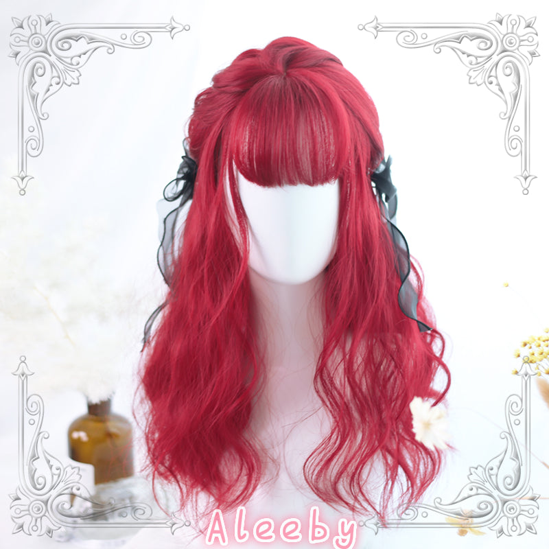 LOLITA AIR BANGS SHORT CURLY WIG BY31069
