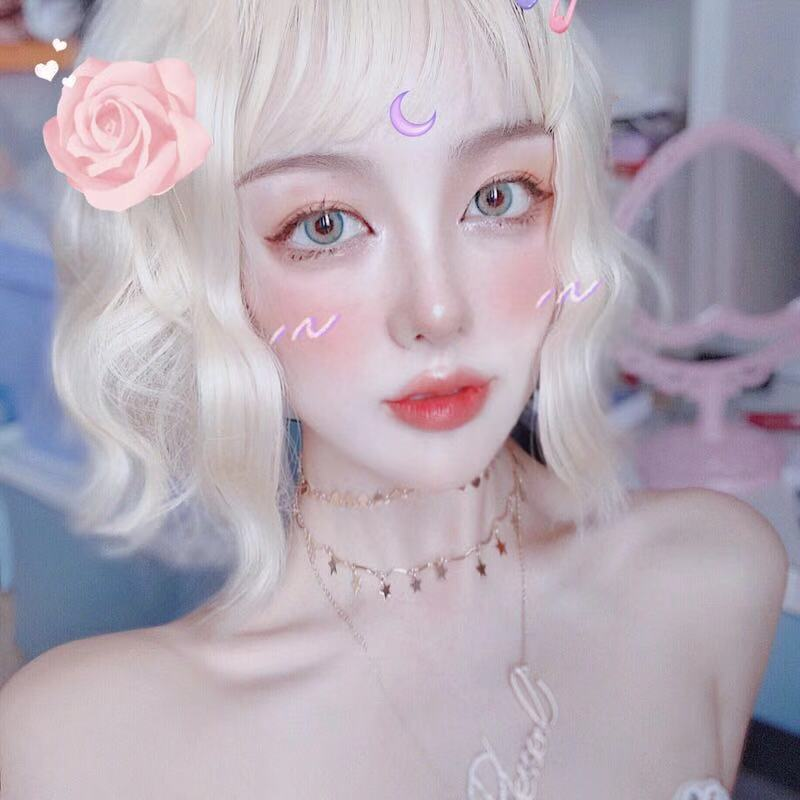 LOLITA FASHION SHORT CURLY WIG BY31102