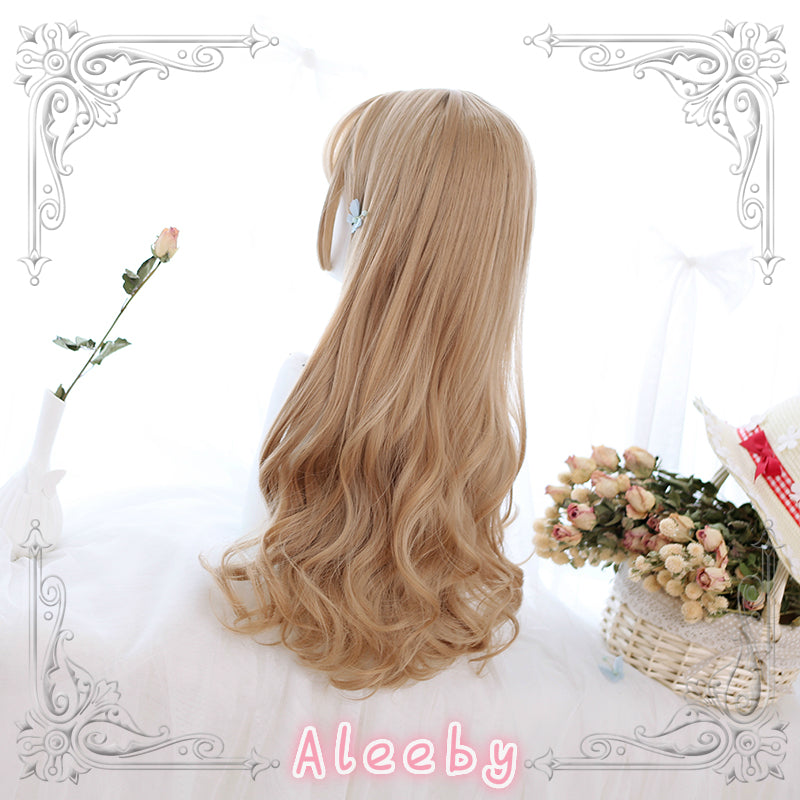 LOLITA HIME CUT LONG CURLS WIG BY31071