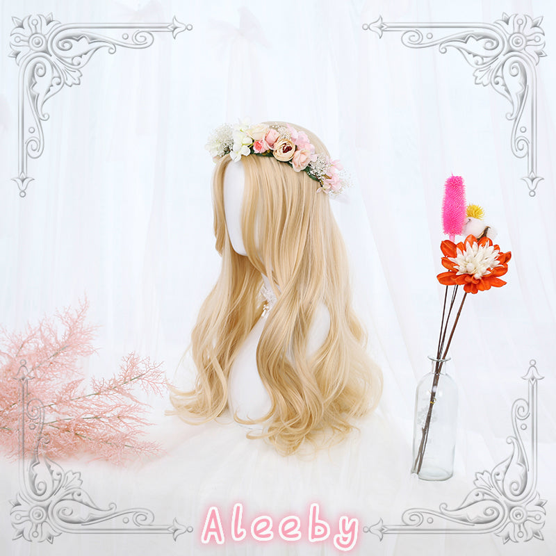 LOLITA MID-DIVIDE TEMPLES LONG CURLY WIG BY31078