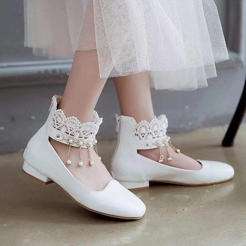 LOLITA PRINCESS FLAT-SOLED SHOES BY50809