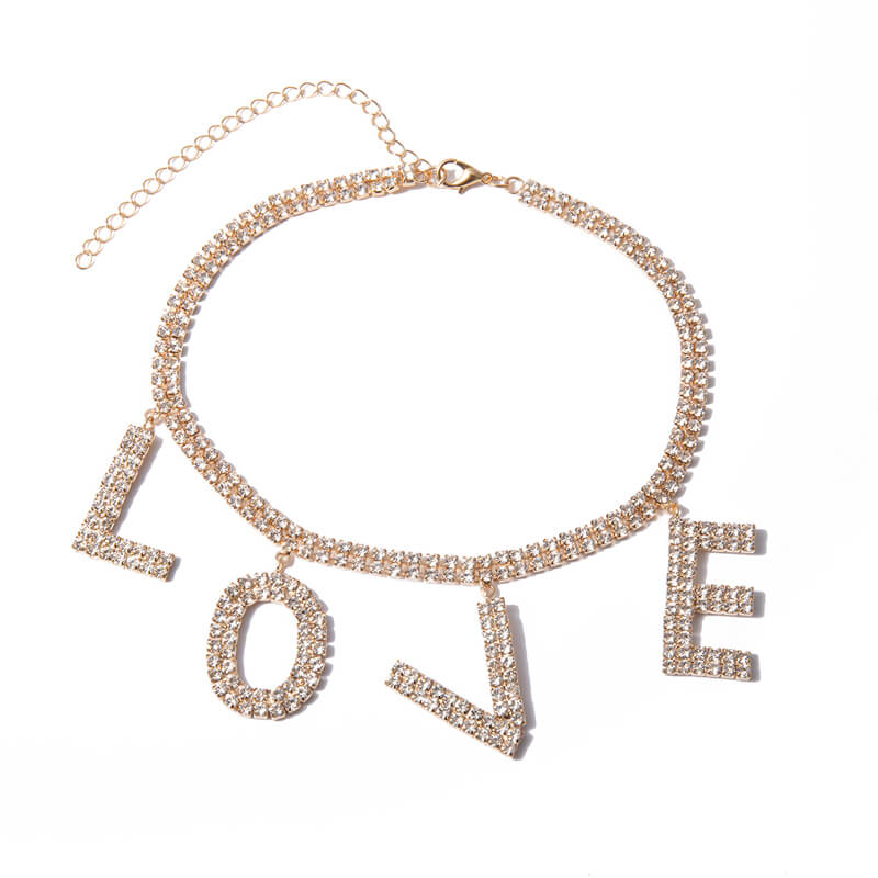 ''LOVE'' CHOKER BY13020