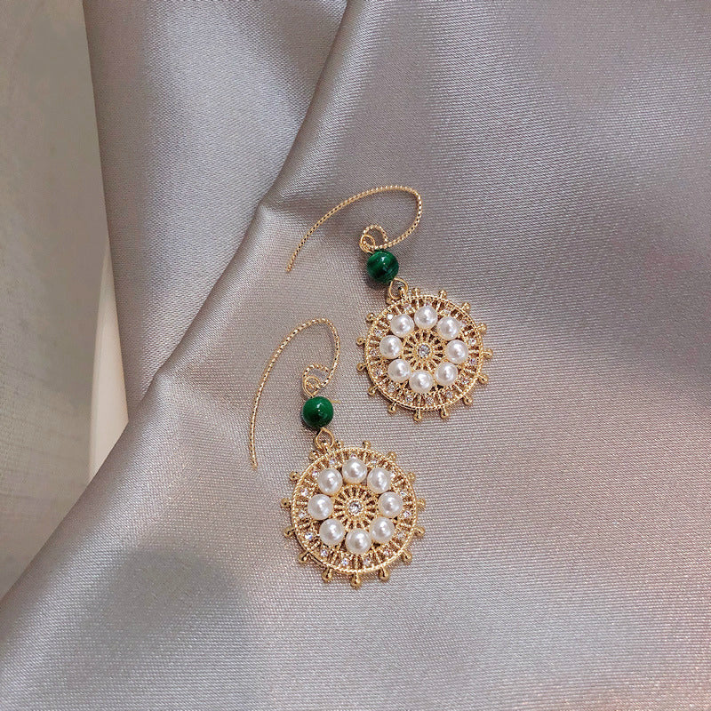 LUCKY PEARL EARRINGS BY14009