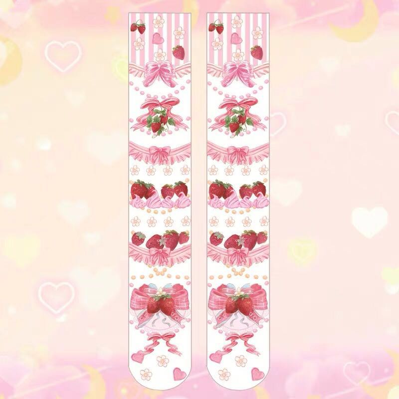 LOLITA CUTE STRAWBERRY STOCKINGS