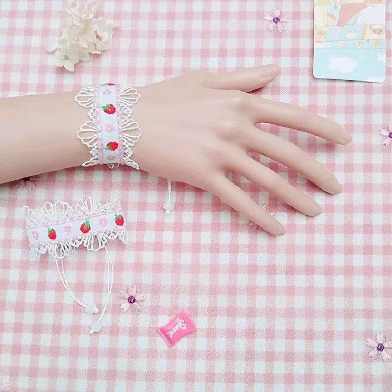 LOLITA STRAWBERRY NACKLACE BRACELET