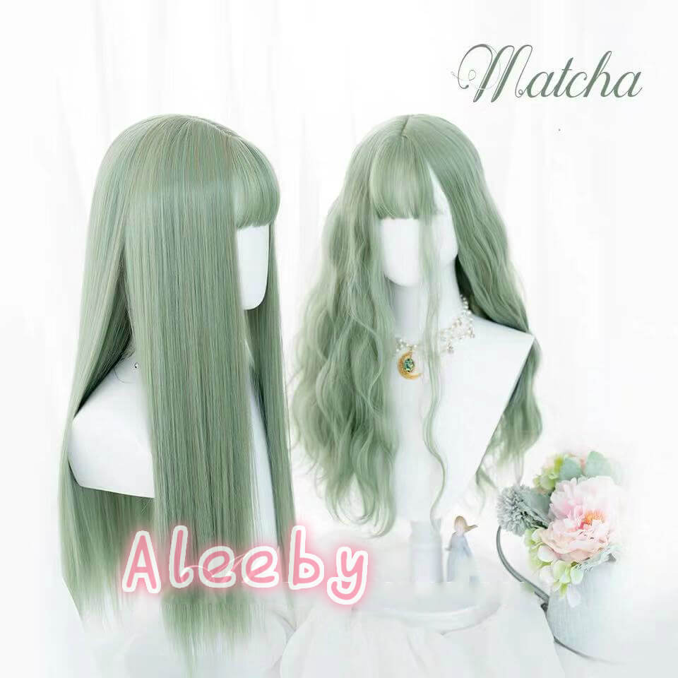 ''MATCHA'' LOLITA BESTIE LONG STRAIGHT WIG BY31139