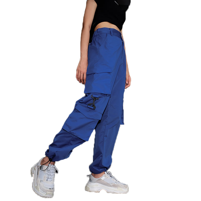 MULTI-POCKET HIPHOP CASUAL PANTS BY63097