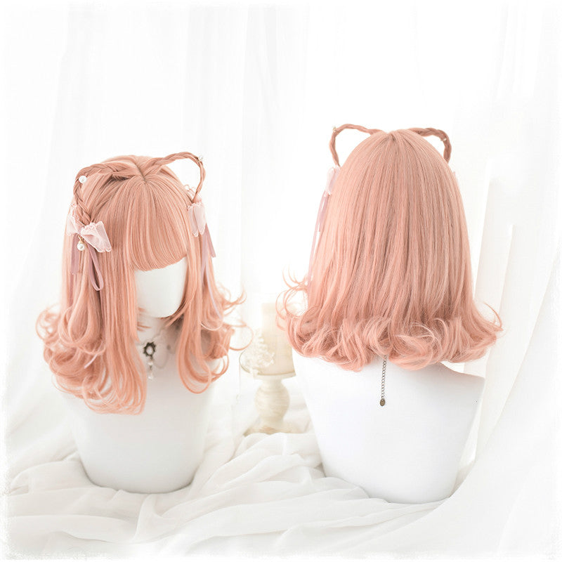LOLITA CUTE ORANGE WIG BY31036