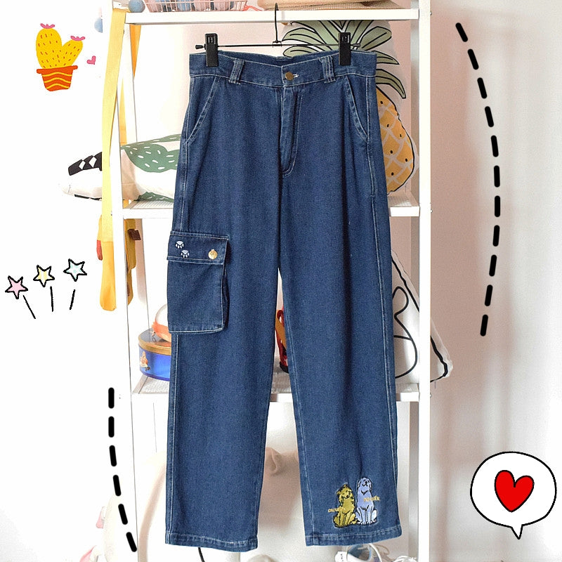 JAPANESE RETRO JEANS BY63109
