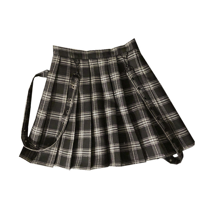 [PLUS SIZE M-4XL] JAPANESE PLEADET SKIRT BY61121