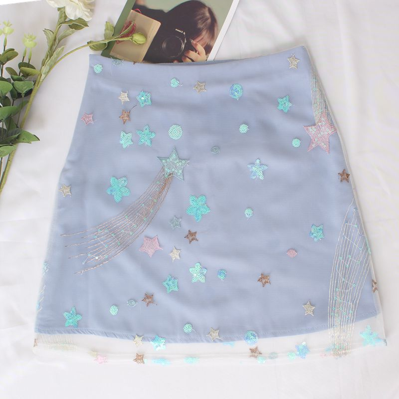SUMMER STAR BLING BLING SKIRT BY61095