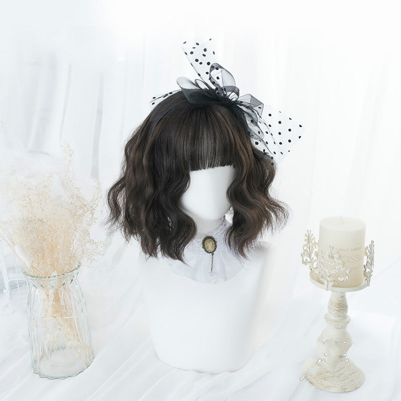 LOLITA DAILY [FOLDED-EARED CAT] NOODLE ROLL WIG