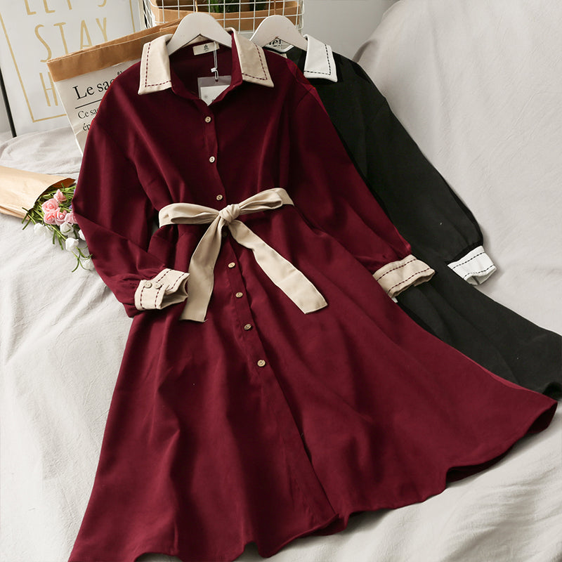 ALEEBY NEW POLO MED LENGTH DRESS FOR AUTUMN BY290903