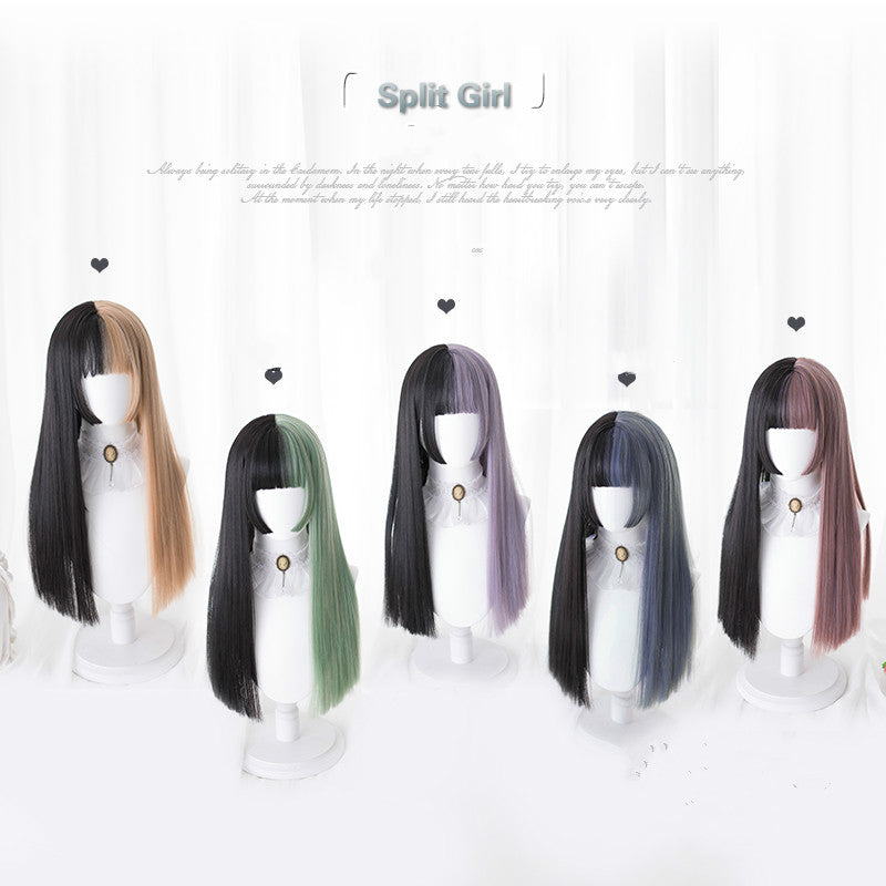 "LOLITA ''SPLIT GIRL"" LONG WIG BY31055"