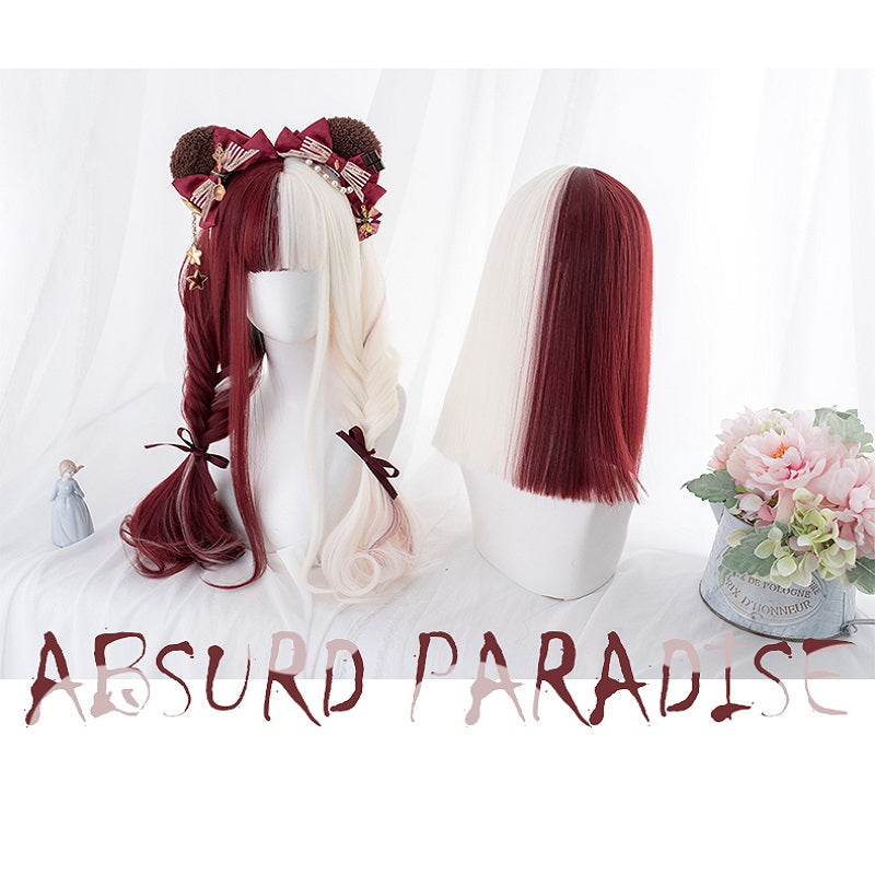 """ABSURD PARADISE"" WIG BY31079"
