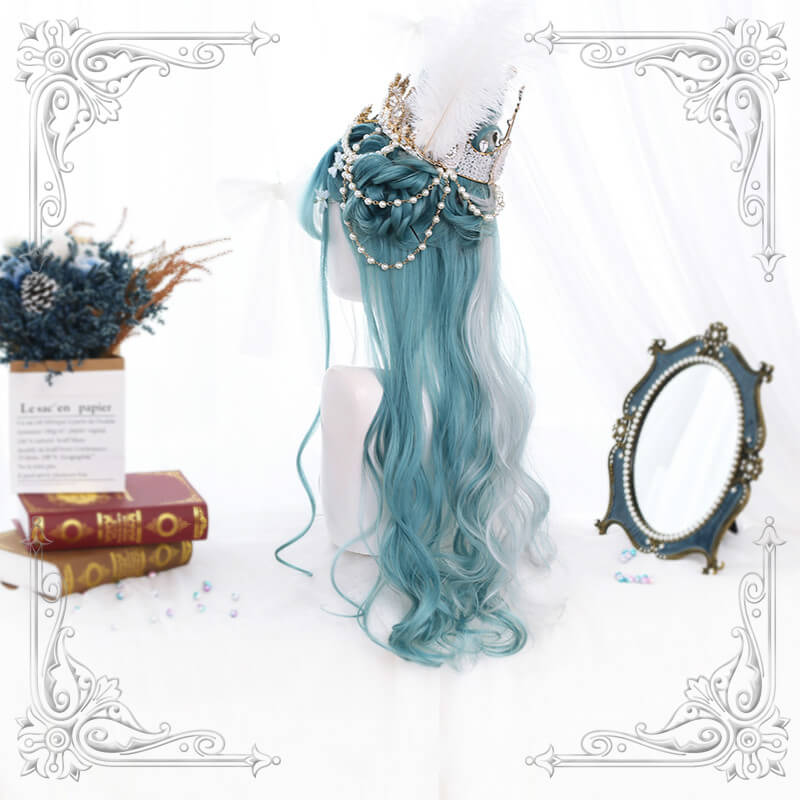 ALEEBY LOLITA LONG GRADIENT WIG BY31164